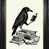 leveragehunters: (Reading raven)