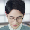 extrapenguin: Shen Wei from Guardian looking down demurely and smiling. (shenwei)