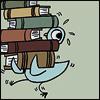 orangerful: (pigeon, books)