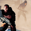 thedarlingone: Zaeed and Kasumi from Mass Effect (Default)
