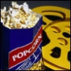 firecat: bag of popcorn and movie reel (movies)