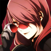 terabient: Mitsuru takes off her sunglasses (Persona: P4A Mitsuru)