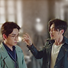 naye: yunlan drawing his hand away from shen wei (guardian - almost touching)