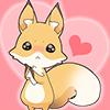 isabellerecs: Foxy Heart (heart, love, fox)