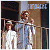 cimorene: two men in light linen three-piece suits and straw hats peering over a wrought iron railing (detective)