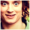 runawayskellum: Frodo Baggins looking wide-eyed and creepy (FRODOFACE)