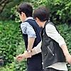 schneefink: Shen Wei pulling ZY along behind him (Guardian SW pulling ZY along)