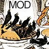 benedict: Illustration of 4 and 20 Blackbirds Baked In A Pie (Mod Once Upon 2)