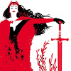 isabellerecs: Scarlet Witch with Sword (scarlet witch sword)
