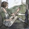 spatz: (Temeraire Jane Roland studying in window)