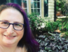 samanthabryant: feeling purple (author, headshot, samanthabryant)