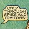 sara: (spies and traitors)