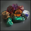 purplecat: A selection of roleplaying dice. (General:Roleplaying)