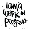 ofrainbows: text: i am a work in progress (Default)