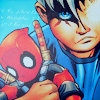 animegl: (little!Cable/ doll!Deadpool)
