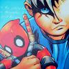 animegl: (little!Cable/ doll!Deadpool)
