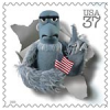 ursamajor: Sam the Eagle with an American flag (dissent is patriotic)