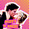 electric_heart: Angel and Buffy kissing (Buffy & Angel)