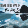 opensummer: Image of a watercolor of haystack rock in Oregon with the text there is no war in ba sing se (there is no war in ba sing se2)