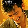 nevermindtherunning: ([ten] geniune smile)
