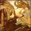 erinism: alphonse mucha (evening star)
