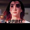 "lokifan: Dark Willow with the words from the magic books crawling over her, text ""power"" (Dark Willow: power of words)"