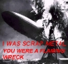 hkellick: I was scrap metal, you were a flaming wreck. (Flaming Wreck)