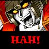euangelias: Starscream going Hah! (Hah!)