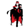 isabellerecs: Scarlet Witch Seated (scarlet witch seat)