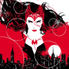 isabellerecs: Scarlet Witch in the Sky (scarlet witch sky)