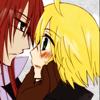 knightofratatosk: (Richter/Emil: almost kiss)