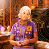 dharmavati: Leslie Knope in her Pawnee Goddess vest ({p&r} your pawnee rangers could never)