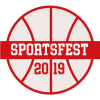 "sportsfest_mods: basket ball with a banner reading ""SportsFest 2019"" (2019 official)"