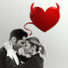 alexia_drake: Lucifer and Chloe holding, from the show Lucifer (Emo - Hugs)