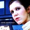 qos: (Leia - Your Worship)