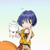 ifbymyhands: Kano holding Potato and looking devious. (they see me trollin')