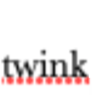 greywash: A screenshot of the word 'twink' with a red dotted spellchecker error underline. (judged by my spellchecker)