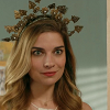 serrico: Screencap of Alexis Rose in a tiara, smiling. (scalexis)