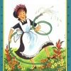 azurelunatic: From the cover of an Amelia Bedelia book, the one with the hose. (literally, Amelia Bedelia)