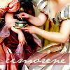 cimorene: painting of two women in Regency gowns drinking tea (tea)
