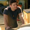 montanaharper: dean leaning on the trunk of the impala (spn dean)