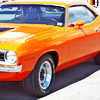 cuda: An Orange Cuda (Default)