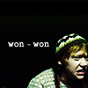 ursamajor: Ron Weasley, emo teen (like making out with the giant squid!)
