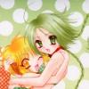 aquaticrush: Retasu hugging Bu-ling. ([r] hugs for all)