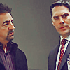 flyakate: Joe Montagna and Thomas Gibson looking serious (never too old for this Hotch and Rossi)