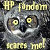 elke_tanzer: Owl - HP fandom scares me (HP fandom scares me)