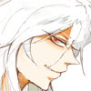 changeofheart: Yami Bakura with a sly grin (sly look)