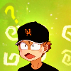 naye: mihashi from oofuri with a confused look (?)
