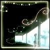 naye: a boy watching strands of floating mushi lights (mushishi - mushi)