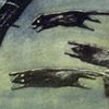 laughingrat: A detail of leaping rats from an original movie poster for the first film of Nosferatu (Lively Rats)